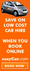 Alicante and Benidorm car hire from easycar starts from only �6.50 per day