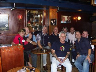 Some of the many regulars at the Intimate Bar
