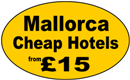 Mallorca (Majorca) Cheap Hotels and  Holidays