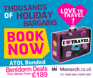 Monarch holidays to Spain have some fantastic last minute Costa Blanca holidays Winter bargains from only �189