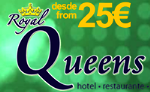 Queens Benidorm Crystal Palace Restaurant